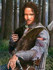Aragorn Lord Of The Rings Art Print