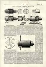 1890 Coyle friction powered émetteur Edward Shaw Bristol