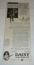 1928 DAISY bb gun ad ~ WARREN H MILLER ~ USS Glacier