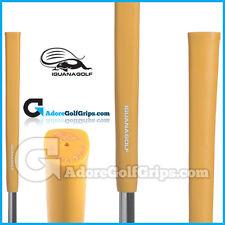 IGUANA GOLF elastomero TONDA Putter Grip-GIALLO + Gratis nastro