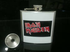 Iron Maiden Hip Flask 6oz Rock Band Music