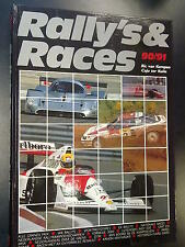 Book Rally's & Races 1990-1991. Door Caju ter Kuile & Ric van Kempen (MCC)