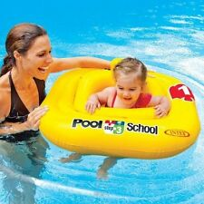Intex 1-2-3 Pool School Deluxe Baby Float  Swimming Swim Aid Step 1-2 years old