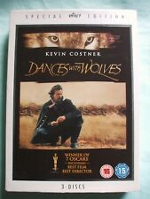 Dances With Wolves 3 Disc Special Edition DVD Box Set.All 3 Discs Are In VGC.