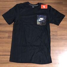 Nike Galaxy Pocket T Shirt Black Multi Color Mens Sz Small NEW!!!