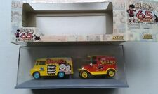 SET OF 2 BEANO VEHICLES IN CASE & BOXED BY LLEDO (65 YEARS OF BEANO CELEBRATION)