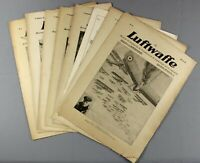 1917-8 | 7 issues LUFTWAFFE WW1 german air force journal red baron illustrations