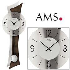 AMS 7425/1 quarzo dell'orologio di parete orologio a pendolo al salotto h 70 cm