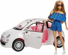 Barbie Fiat Car and Doll