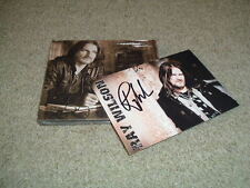 RAY WILSON - SONG FOR A FRIEND - CD ALBUM + SIGNED POSTCARD - EX GENESIS - NEW