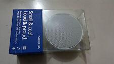 Oficial Genuino Sellado Mini Altavoz Bluetooth Nokia MD-12 - Blanco