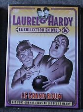 Laurel & Hardy, le grand boum, la collection en DVD N° 16