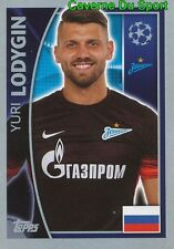 522 YURI LODYGIN RUSSIA FC.ZENIT STICKER CHAMPIONS LEAGUE 2016 TOPPS