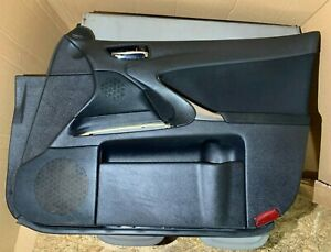 2007 LEXUS IS220 DOOR CARD FRONT RIGHT OSF INTERIOR PANEL BLACK 05-12 IS250 XE20