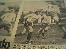 ephemera 1977 picture football david audley wigston fields holwell works pollard