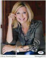 Olivia Newton John Psa Dna Coa Signed 8x10 Photo Autograph 3