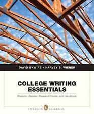 College Writing Essentials: Rhetoric, Reader, Research Guide, and Handbook