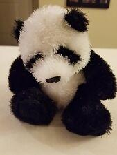 """GANZ Webkinz Panda BEAR PLUSH 8"""" FREE SHIPPING"""