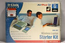 D-Link Air Plus 54mbps 802.11g/2.4ghz Wireless Laptop PC Kit DWL-923