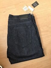 True Religion Mens Rocco Skinny  Midnight Blue Jeans BNWT £155 W34  L34