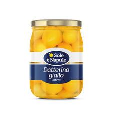 "Datterino Gelb 560gr - "" O Sol E Napule "" - Karton 6 Pezzi"