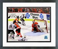 "Patrick Kane Chicago Blackhawks Stanley Cup Goal Photo (12.5"" x 15.5"") Framed"