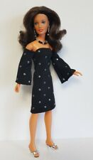 Vintage Kenner DARCI Doll Clothes DRESS & JEWELRY Handmade Fashion NO DOLL d4e