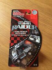 Racing Champions Lara Croft Tomb Raider Land Rover Defender, Die Cast,1:64 MISP