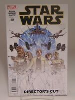 STAR WARS #1 DIRECTOR'S CUT VARIANT COVER MARVEL  VF/NM CB485