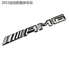 New AMG Glass Rear Emblem Badge Decal Logo For Mercedes-Benz CL CLS E S SLK SL
