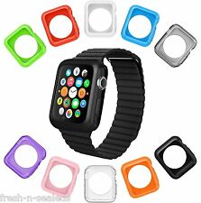 Apple Watch Protective Case Cover iWatch Bumper Soft Protector Color 38mm 10 Pc