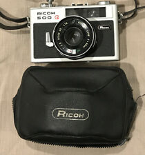 Ricoh 500G 35mm Rangefinder Film Camera with Rikenon 40mm f2.8 Lens