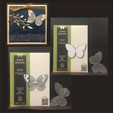 Butterfly Cutting Dies BUNDLE Powell & Corden Butterflies metal die sets