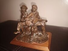 Western Art - TERRY MIMNAUGH ORIGINAL Broze Dated 1980 (4 out of 15 cast)