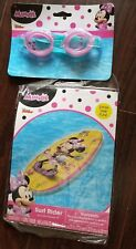 Kids Disney Swimming Goggles and Surf rider -  Minnie Mouse NEW