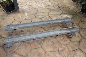 Industrial Machine Skates/Load Rollers. Material Handeling . Great old tools