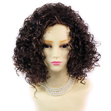 Wiwigs Short Untamed Wild Brown & Red Curly Ladies Wig