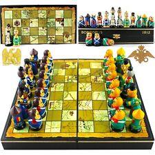 Russian Chess Set Russian Dolls Napoleonic Wars of 1812 Borodino Battle