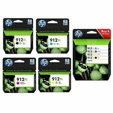 Genuine HP912XL CMYK Ink Cartridges for HP OfficeJet 8012 8014 8015 Pro 8022 Lot