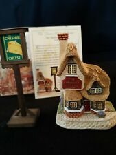 David Winter Cottages The Cheshire Cheese #D1193 Dinner Party Collection Signed