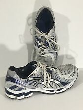 Asics Gel Kayano 17 IGS Duomax Running Shoes White Blue Gray Sneakers Mens 10.5
