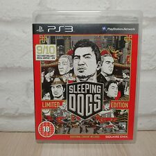 Sleeping Dogs Limited Edition Sony PlayStation 3 Game PS3