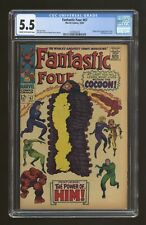 Fantastic Four #67 CGC 5.5 1967 1557602010 1st app. Him (Warlock)