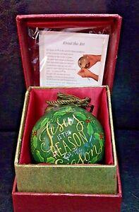 Ne' Qwa Art Christmas Ornament: Jesus Is The Reason