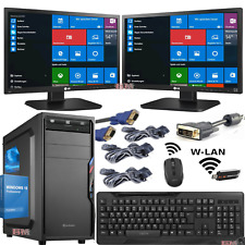 PC System:Intel Core i3 4X3,10 GHz 500GB 8GB DVD-RW W-LAN (2x22 ZOLL) WINDOWS 10