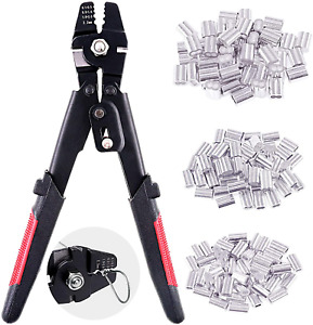 2.2mm Wire Rope Crimping Tool Wire Rope Swager Crimpers Fishing Crimping Tool