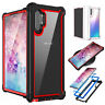 For Samsung Galaxy Note 10 Plus Shockproof Protective Case Rugged Hybrid Cover