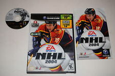 NHL 2004 Nintendo GameCube Video Game Complete