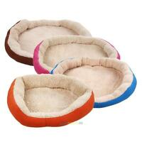 New Cute Pet Dog Puppy Cat Soft Fleece Cozy Warm Bed House Plush Nest Mat Pad #L