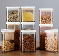 Airtight Tea Coffee Bean Sugar Salt Kitchen Cereal Jars Food Storage Containers